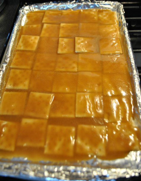 Toffee Saltines