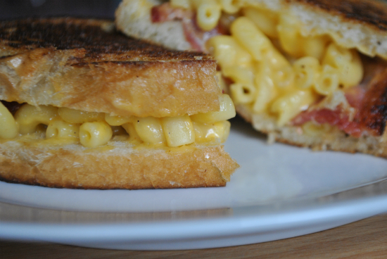 Mac and Grilled Cheese