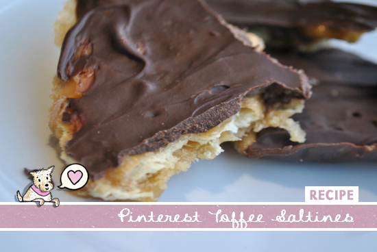 Pinterest Chocolate Toffee Saltine Recipe