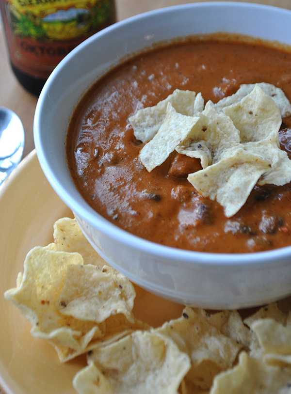 Football Recipe: Cheesy Chipotle Chili