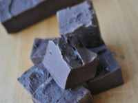 Dark Chocolate Bailey's Fudge