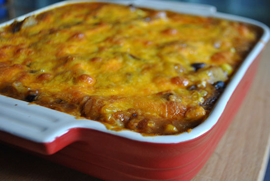 Baked Mexican Casserole - Mac + Molly