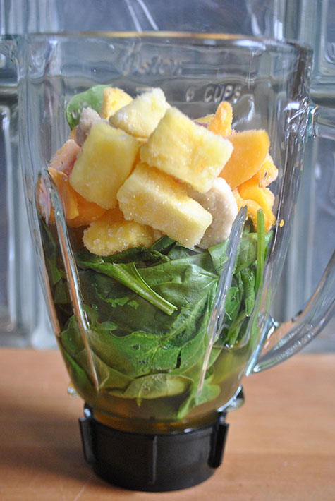 Green Spinach Smoothie Recipe
