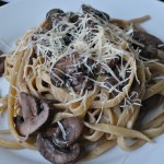 Red Wine Cream Sauce + Pasta