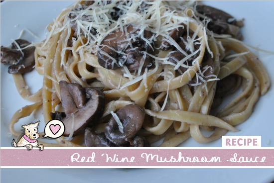 Red Wine Mushrooms Sauce Recipe