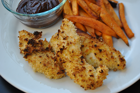 Oven Baked Chicken Tenders