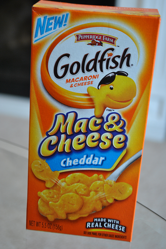 Goldfish Macaroni and Cheese