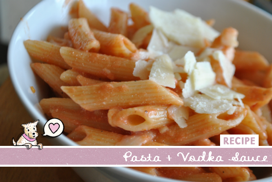 Vodka Sauce Recipe