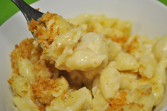 Three Cheese Stove Top Mac and Cheese - Mac + Molly