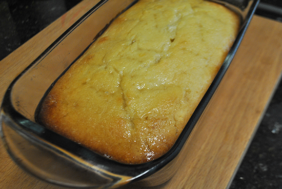 Iced Lemon Bread