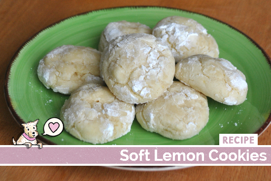 Soft Lemon Cookies Recipe
