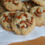 Almond Pretzel Chocolate Chip Cookies