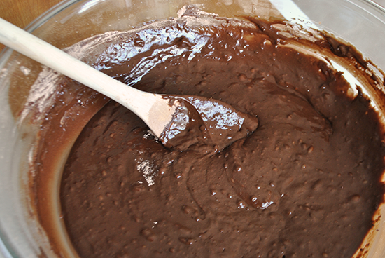 Chocolate Espresso Bread Batter