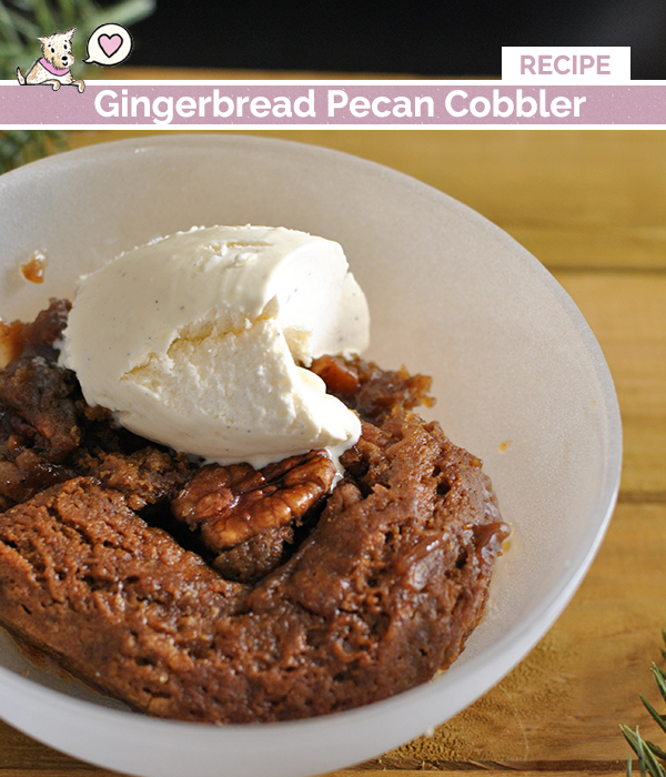 gingerbread cobbler recipe