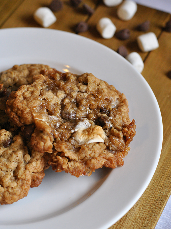 oatmeal smores cookies
