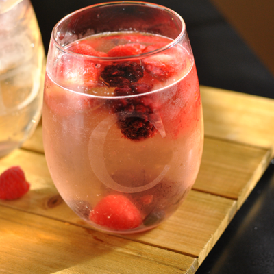Valentine's Day White Berry Sangria