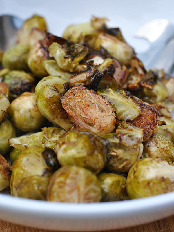 asian grilled brussles sprouts