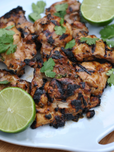 Grilled Ginger Lime Chicken
