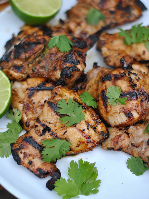 grilled ginger lime chicken recipe